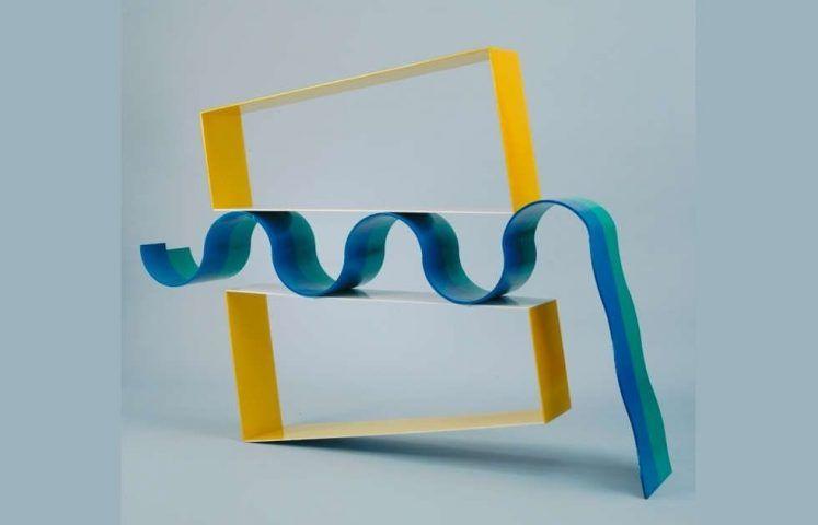 David Annesley, Swing Low, 1964, Stahl, bemalt, 128,3 x 175,9 x 36,8 cm (© Tate Images credit, © David Annesley)
