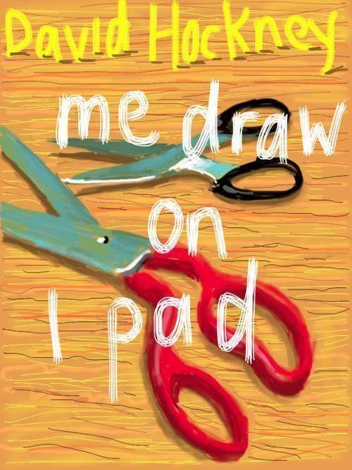 David Hockney, Untitled (me draw on ipad), 21 March 2011, 2, iPad drawing © David Hockney