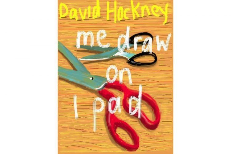 David Hockney, Me draw on iPad, 2011