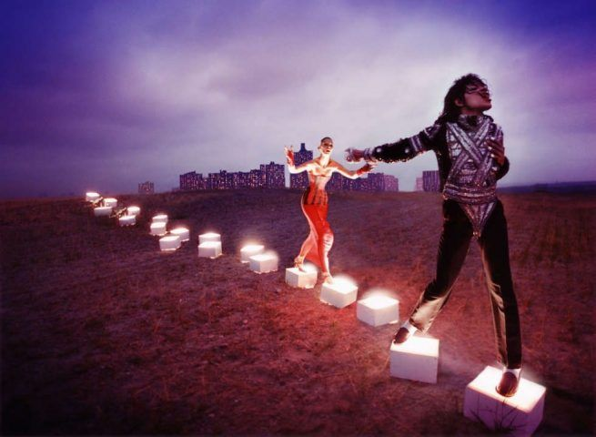 David LaChapelle, An illuminating path, 1998