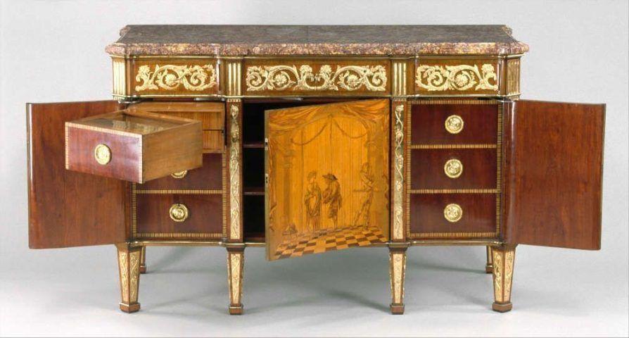 David Roentgen Möbel Für Ludwig Xvi Und Marie Antoinette