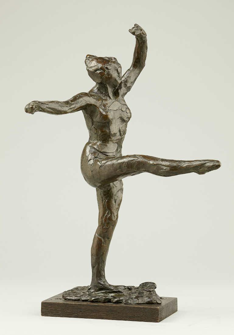 Edgar Degas, Kleine Tänzerin, 1888, Bronze, 42,5 cm (Städel Museum, Frankfurt am Main © Städel Museum – ARTOTHEK, Inv. SGP 61)