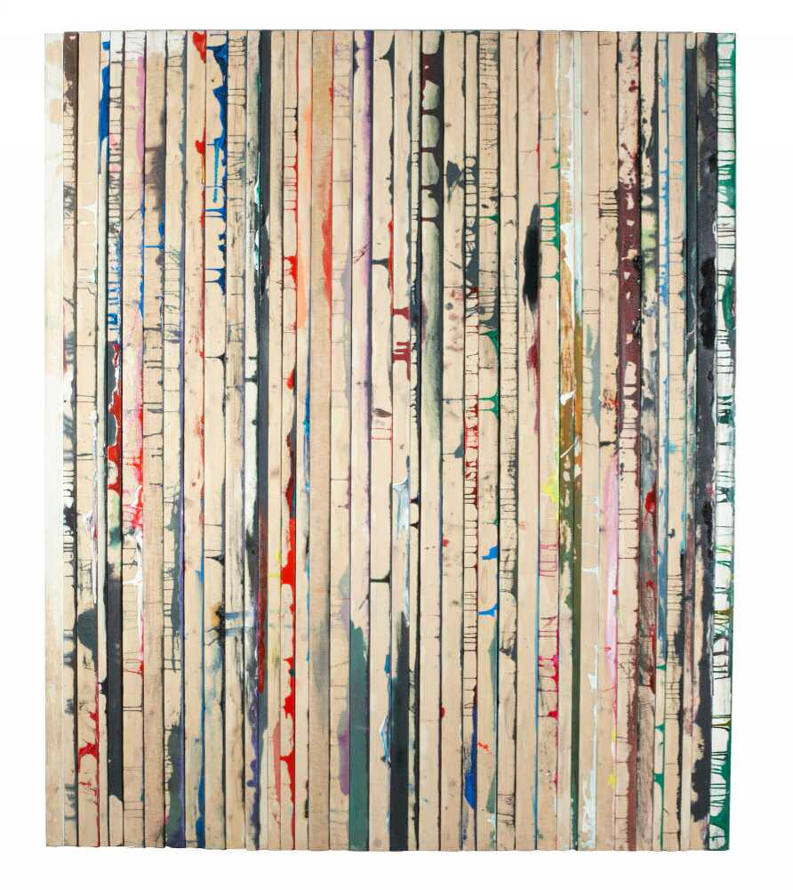 Dejan Dukic, Storage-Painting Nr. 10, 2011 (c)MUSA