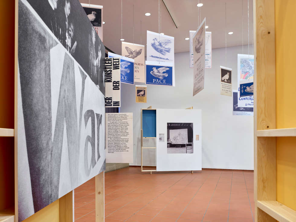 Der geteilte Picasso. Der Künstler und sein Bild in der BRD und DDR, Installationsansicht Museum Ludwig, Köln 2021 © Succession Picasso/VG Bild-Kunst, Bonn 2021, Foto: Achim Kukulies, Düsseldorf