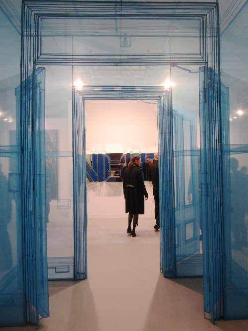 Do Ho Suh, Main Entrance, 2016 bei Victoria Miro, London-Venice © Künstler und Galerie, Foto: Eva Pakisch