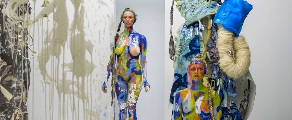 Donna Huanca, BLISS (REALITY CHECK), 2017 © courtesy Peres Projects, Berlin