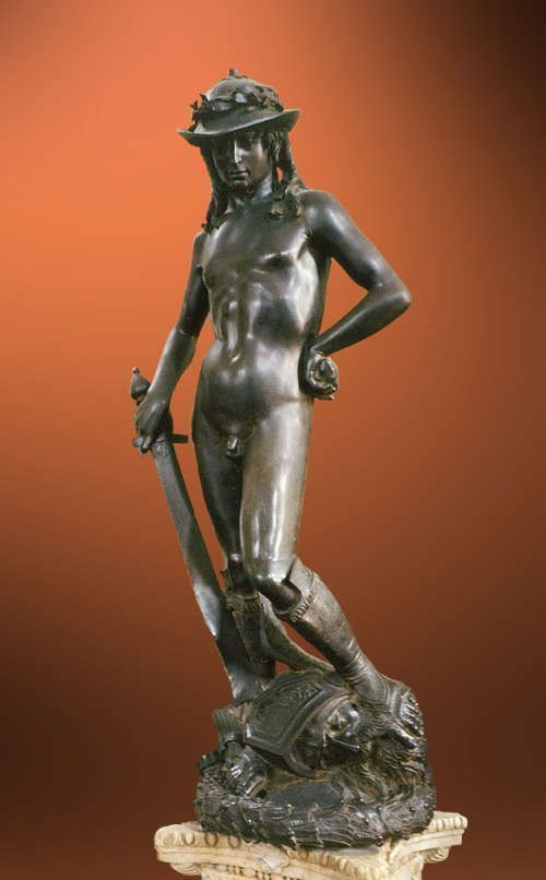 Donatello, David, Bronze (Bargello)
