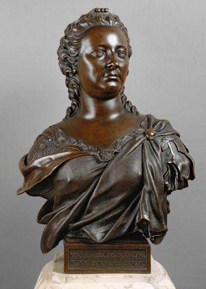 Matthäus Donner, Büste Maria Theresias, Wien 1750, Bronze (KHM, Kunstkammer, Inv.-Nr. KK 6142)