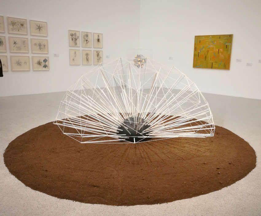 Doru Tulcan, Löwenzahn, Ausstellungsansicht mumok, Foto: Alexandra Matzner, ARTinWORDS.