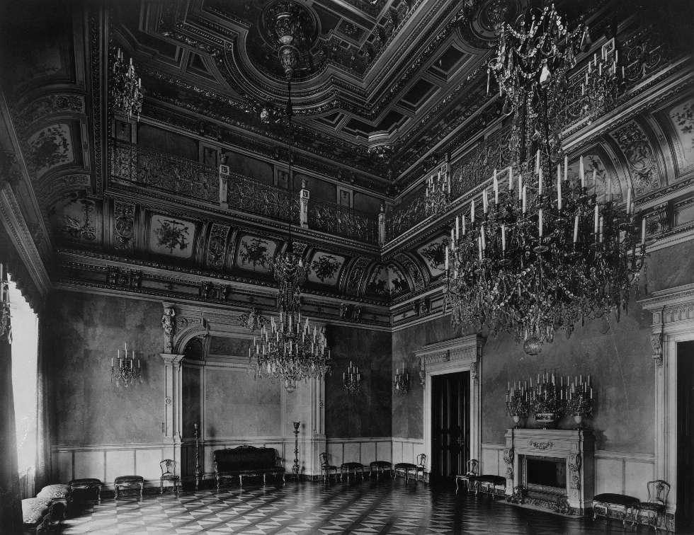 Dresden, Residenzschloss, Kleiner Ballsaal, 1896