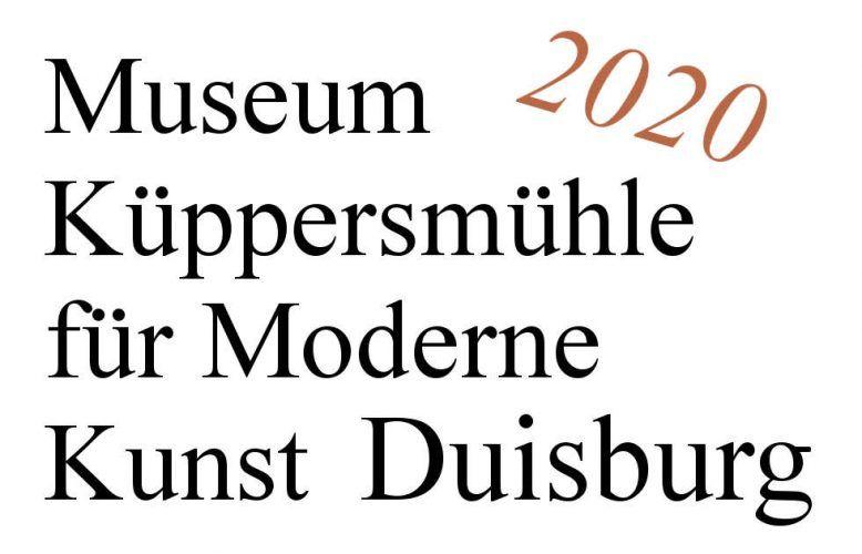 Duisburg, MKM Museum Küppersmühle für moderne Kunst, Ausstellungen 2020