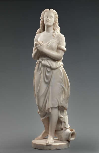 Edmonia Lewis, Hagar, 1875, Marmor (Smithsonian American Art Museum, Gift of Delta Sigma Theta Sorority, Inc., 1983.95.178)