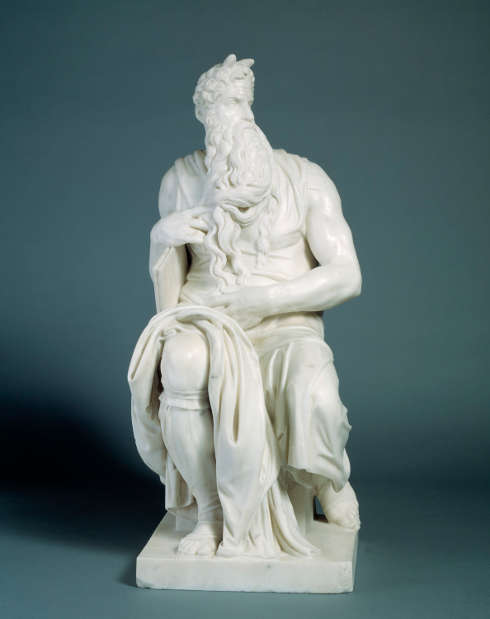 Edmonia Lewis, Moses (nach Michelangelo), 1875, Marmor, 68 x 29.2 x 34.6 cm (Smithsonian American Art Museum, Gift of Mr. and Mrs. Alfred T. Morris, Jr., 1984.149.1)
