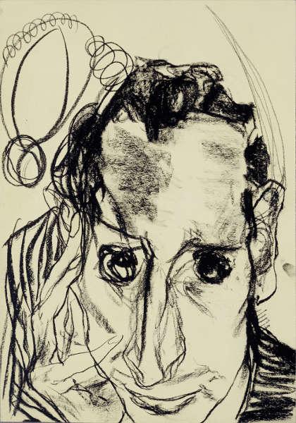 Edmund Kalb, Selbstbildnis, 1930 (© Privatbesitz Foto: Archiv Sagmeister, © Rudolf Sagmeister/Kunsthaus Bregenz)