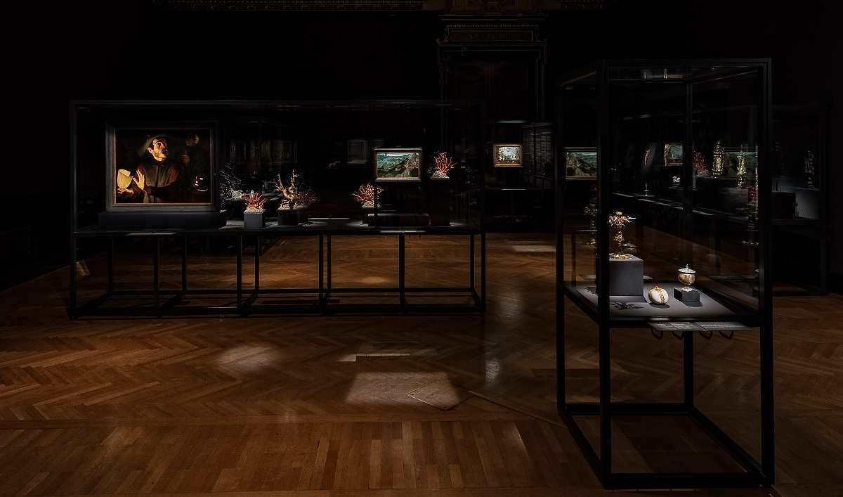 """Edmund de Waal trifft Albrecht Dürer. """"During the Night"""", Ausstellungsansicht: Kunsthistorisches Museum, Wien, 2016 (© KHM-Museumsverband)"""