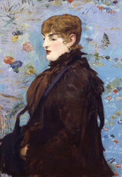 Edouard Manet, Herbst (Méry Laurent), 1881 oder 1882 (Musée des Beaux-Arts de Nancy, Nancy, France. Foto P. Mignot)