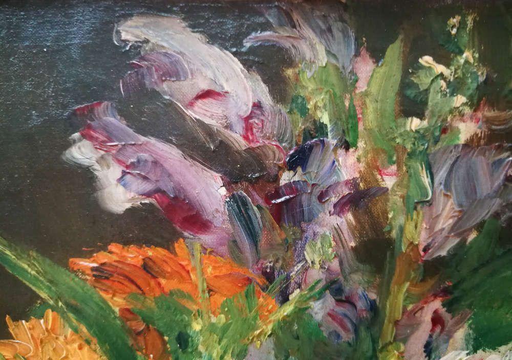 Edouard Manet, Stillleben mit Blumen, Detail, 1882 (Oskar Reinhart)