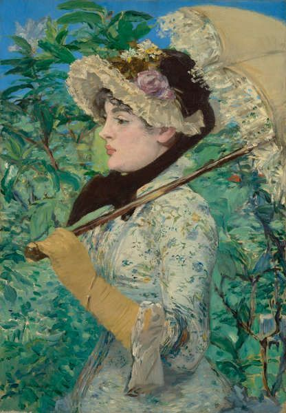 Edouard Manet, Jeanne (Frühling), 1881 (The J. Paul Getty Museum, Los Angeles)