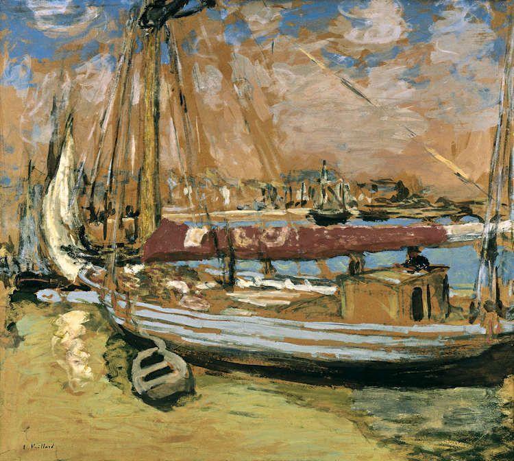 Edouard Vuillard, La bateau de pêche [Das Fischerboot], 1908