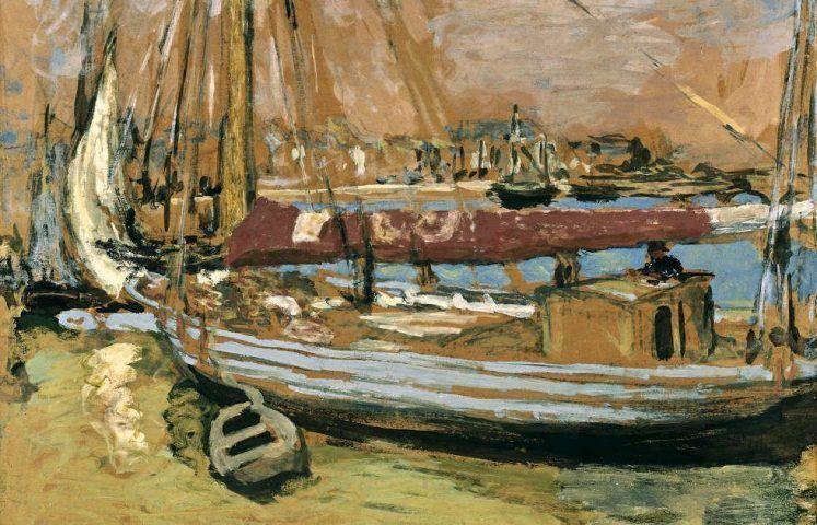 Edouard Vuillard, La bateau de pêche [Das Fischerboot], Detail, 1908