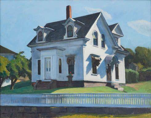 Edward Hopper, Hodgkin's House, 1928, Öl/Lw (Privatsammlung)