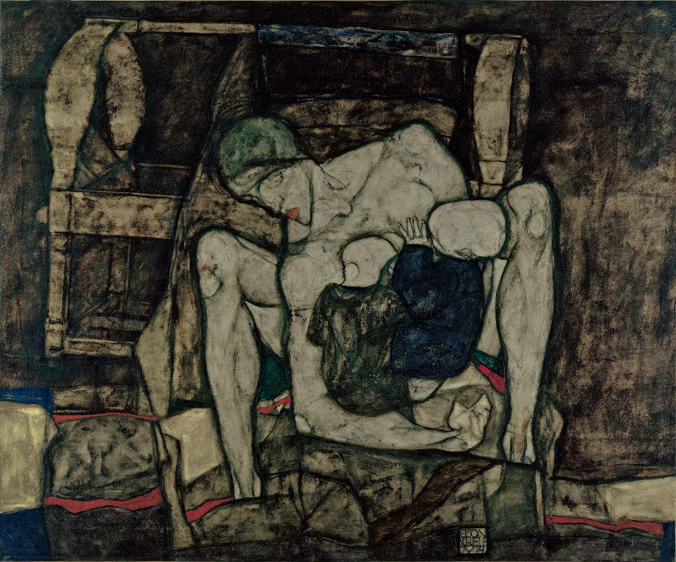 Egon Schiele, Blinde Mutter, 1914 (Leopold Museum, Wien)