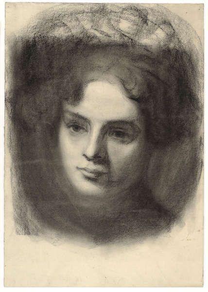 Egon Schiele, Porträt eines Mädchens, um 1907 (© Albertina, Wien)