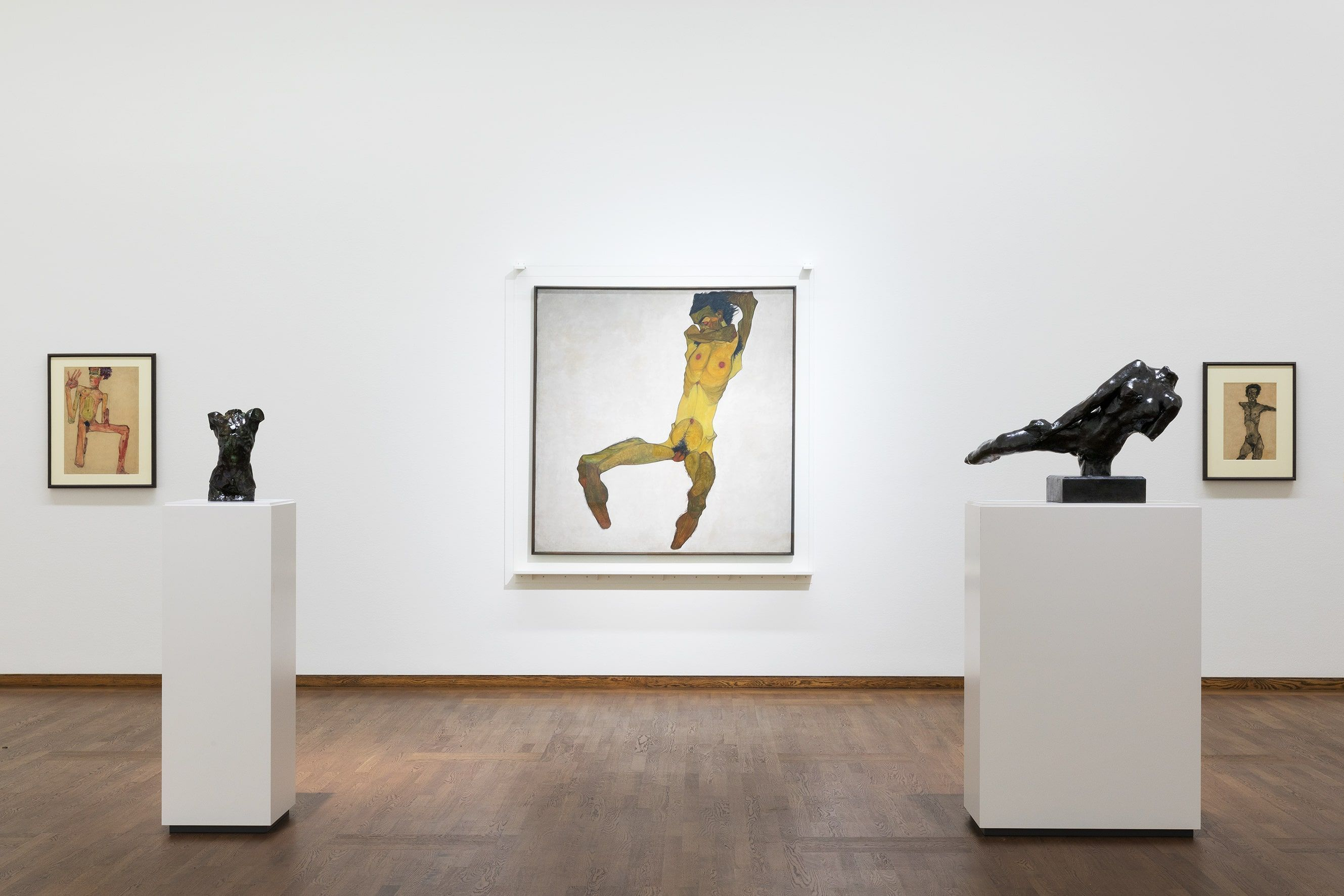 "Egon Schiele, Rodin, Neuaufstellung Leopold Museum: ""Wien 1900"", Foto: Alexandra Matzner | ARTinWORDS"