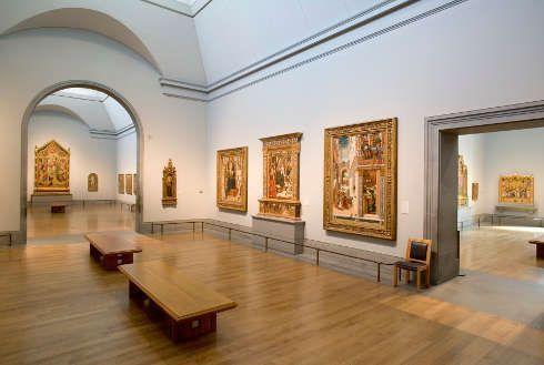 Einblick in den Sainsbury Wing der National Gallery of Art, London © National Gallery, London