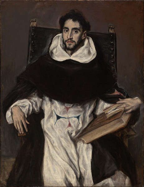 El Greco, Porträt von Bruder Hortensio Félix Paravicino, um 1609–1611, Öl/Lw, 112 × 86,1 cm (Boston, Museum of Fine Arts, Photograph © 2018 Museum of Fine Arts, Boston. All rights reserved)