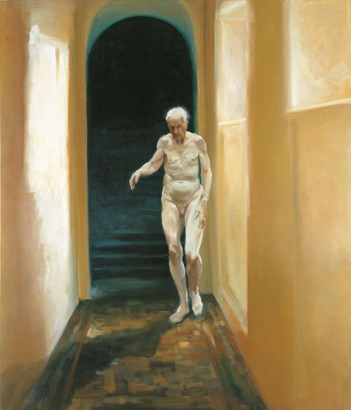 Eric Fischl, Frailty is a Moment of Self Reflection, 1996 (© Eric Fischl, Foto: © Dorothy Zeidman)