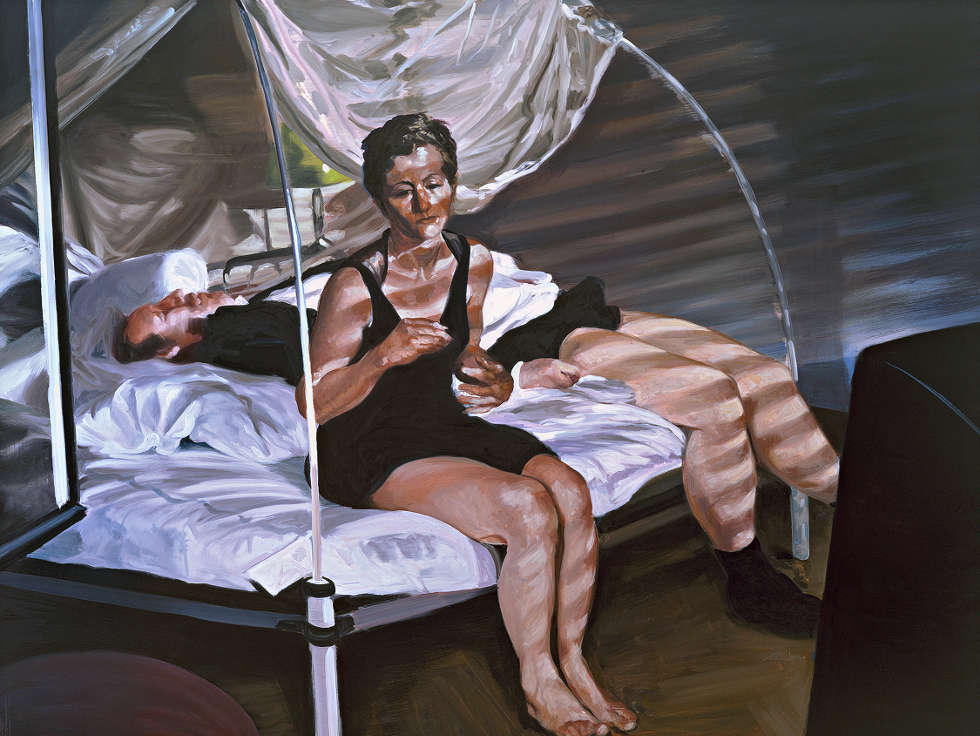 Eric Fischl, The Krefeld Project: The Bedroom. Scene 1, 2002 (The Apple Tree Collection)