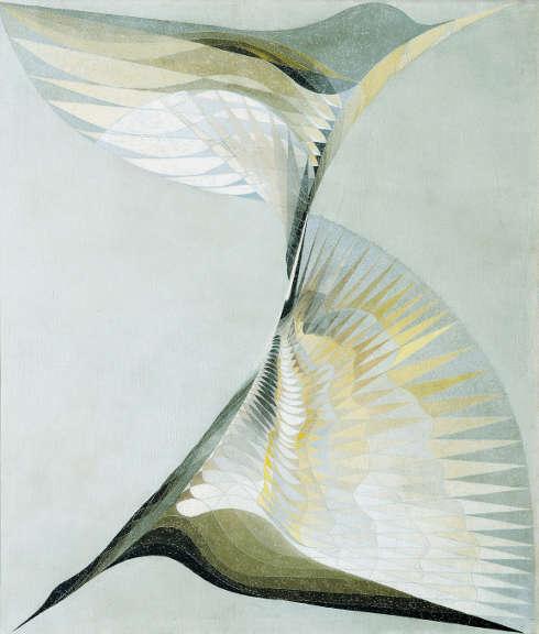 Erika Giovanna Klien, Diving Bird, 1939, Öl/Lw, 111 × 96 cm (Österreichische Galerie Belvedere, Wien)