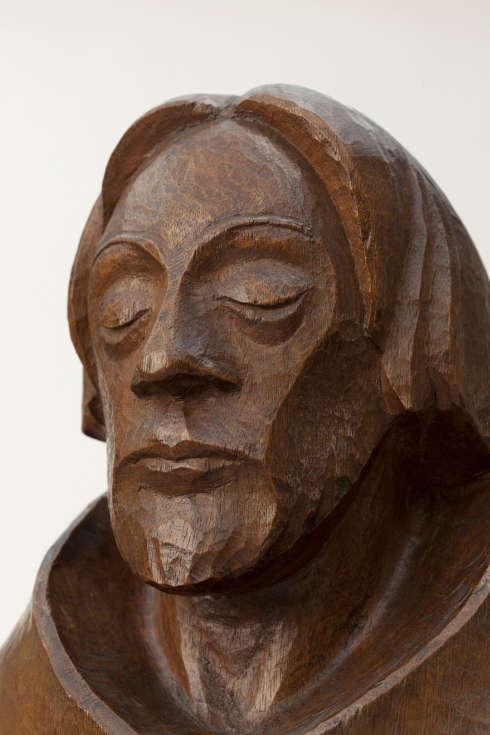 Ernst Barlach, Der Asket, Detail, 1925