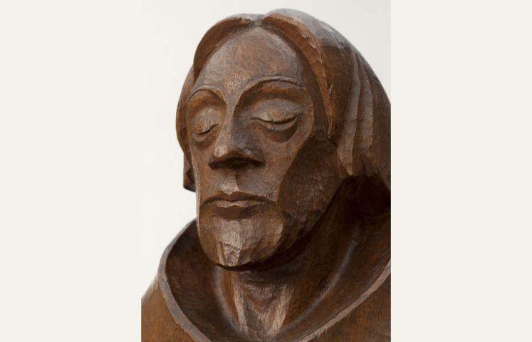 Ernst Barlach, Der Asket, Kopf, 1925