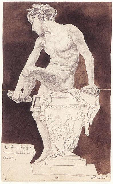Ernst Barlach, Junge mit Panflöte
