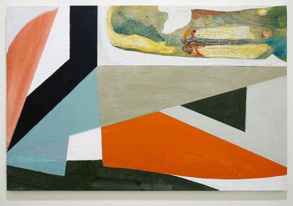 Ernst Caramelle, Untitled (Klimt), 2011, Mischtechnik auf Holz, 47 x 69,7 cm (Courtesy Philip and Alexandra Burchard Collection, Frankfurt © Photo: Mai 36 Galerie, Zürich © Ernst Caramelle)
