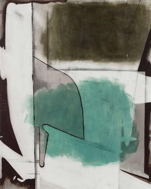 Erwin Bohatsch, Ohne Titel, 2015, Öl und Acryl auf Leinwand, 250 x 200 cm (Privatsammlung Courtesy Erwin Bohatsch, Foto: Jorit Aust)