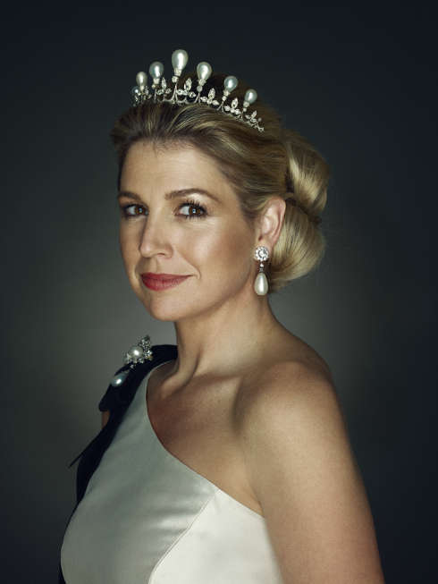 Erwin Olaf, HRH Princess Maxima, 2011 (Rijksmuseum, Amsterdam, Purchased with the support of the BankGiro Loterij, 2018)