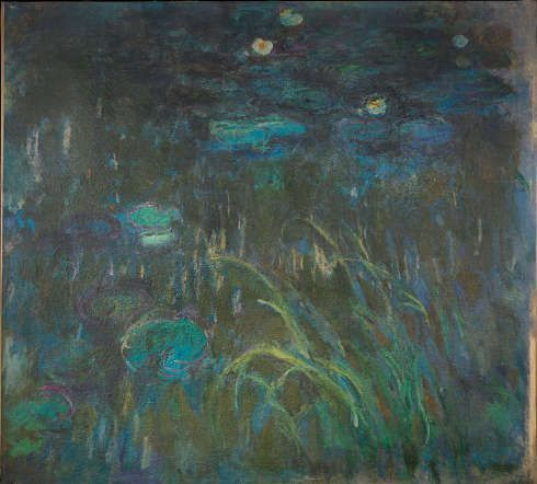 Factum Arte, Rekonstruktion von Claude Monet, Seerosen © Factum Arte