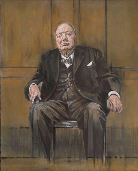 Factum Arte, Rekonstruktion von Graham Sutherlands Porträt von Winton Churchill © Factum Arte © Factum Arte
