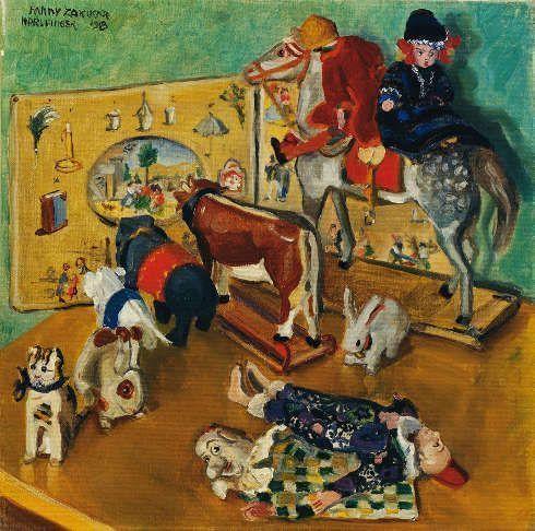 Fanny Harlfinger-Zakucka, Spielzeug (© Belvedere, Wien)