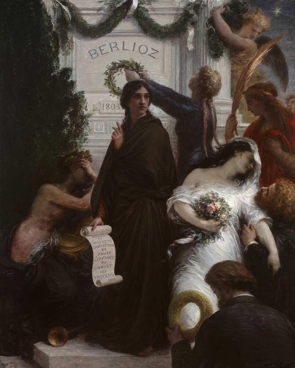 Henri Fantin-Latour, L'Anniversaire 1876 [Jubiläum 1876], Öl auf Leinwand, 220 x 170 cm (Grenoble, Musée de Grenoble © Musée de Grenoble)