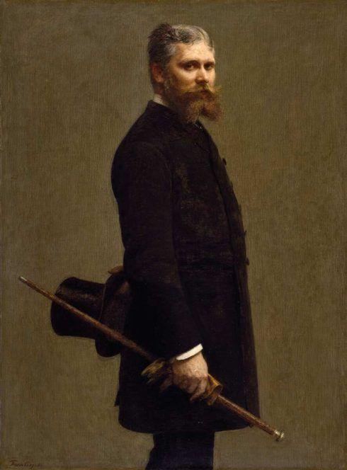Henri Fantin-Latour, Porträt von Léon Maître, 1886, Öl auf Leinwand, 131,5 x 98,4 cm (Norfolk (Virginia), Chrysler Museum of Art © Chrysler Museum of Art, Norfolk, VA / don de Walter P. Chrysler, Jr.)