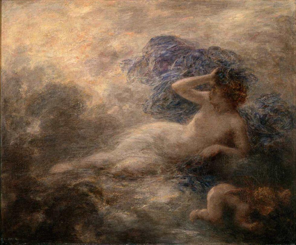 Henri Fantin-Latour, La Nuit [Die Nacht], 1897, Öl auf Leinwand, 61 x 75 cm (Paris, Musée d'Orsay © Rmn-Grand Palais (musée d'Orsay) / Photo Hervé Lewandowski)