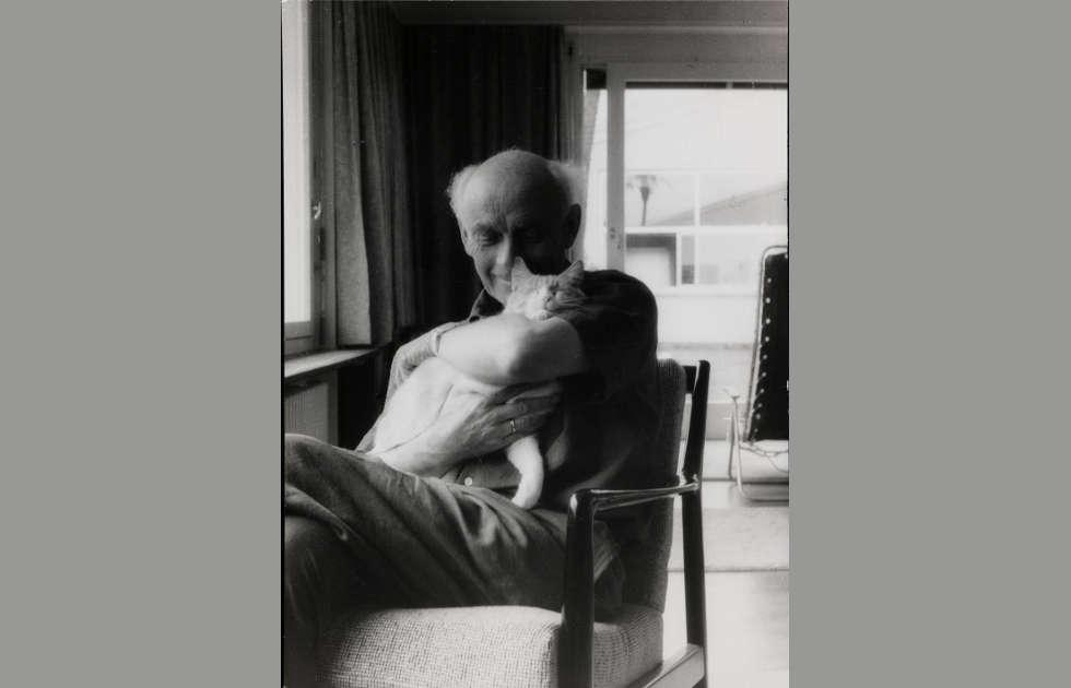 Felicitas Vogler, Ben Nocholson mit Tommy, 1965