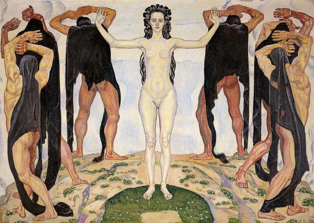 Ferdinand Hodler, Die Wahrheit, 1903 (© Kunsthaus Zürich, Dauerleihgabe der Stadt Zürich, 1930, Foto: Kunsthaus Zürich)