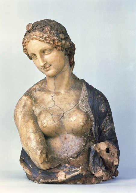 In der Art des Leonardo da Vinci, Flora, 16. oder 19. Jh. (© Staatliche Museen zu Berlin, Skulpturensammlung und Museum für Byzantinische Kunst / Jörg P. Anders)