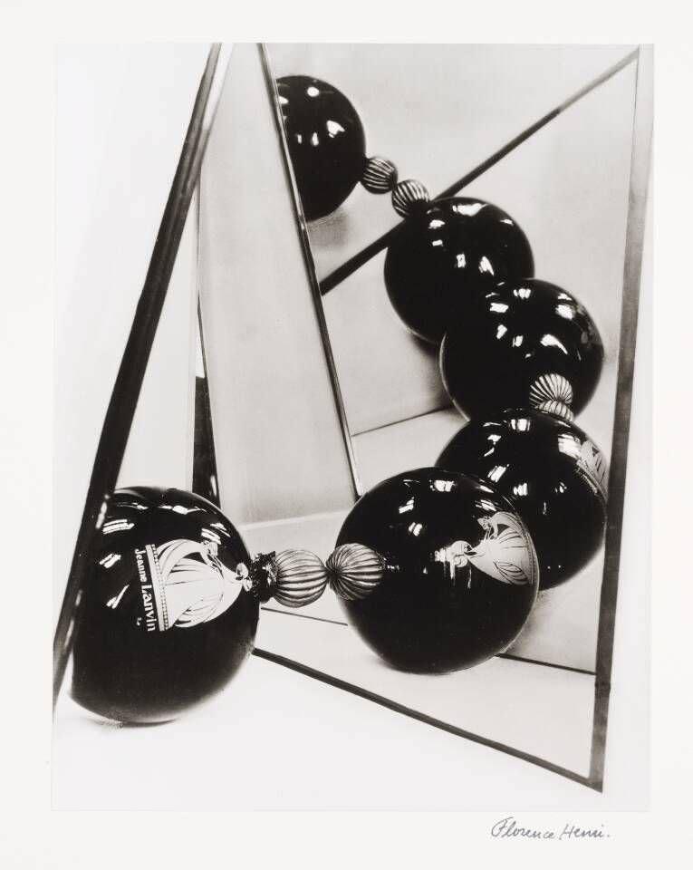 Florence Henri, Jeanna Lanvin, 1929, Silbergelatineabzug auf Barytpapier, 25,2 x 19,6 cm (Museum moderner Kunst Stiftung Ludwig Wien, erworben 1977 Photo: mumok)