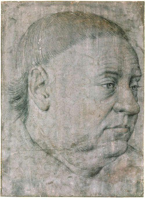 Jean Fouquet, Bildnis Guillaume Jouvenel des Ursins, um 1460, Stift auf getöntem Papier (© Kupferstichkabinett – Staatliche Museen zu Berlin / Jörg P. Anders)